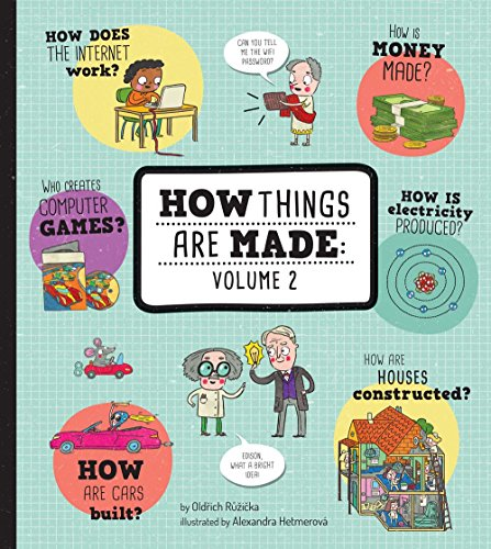 How Things Are Made: Volume 2 by Sterling Children's Books