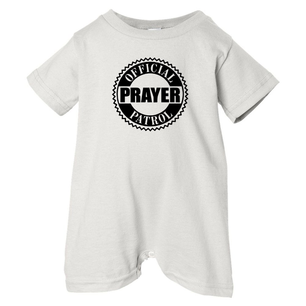 Black Mashed Clothing Unisex Baby Official Prayer Patrol T-Shirt Romper