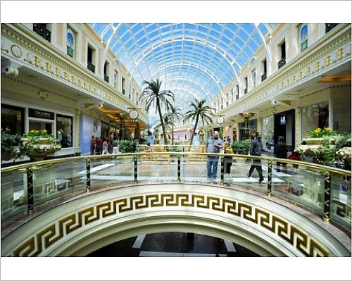 Photographic Print of Shopping mall at The Trafford Centre, Manchester, England, United - Manchester Mall Shopping