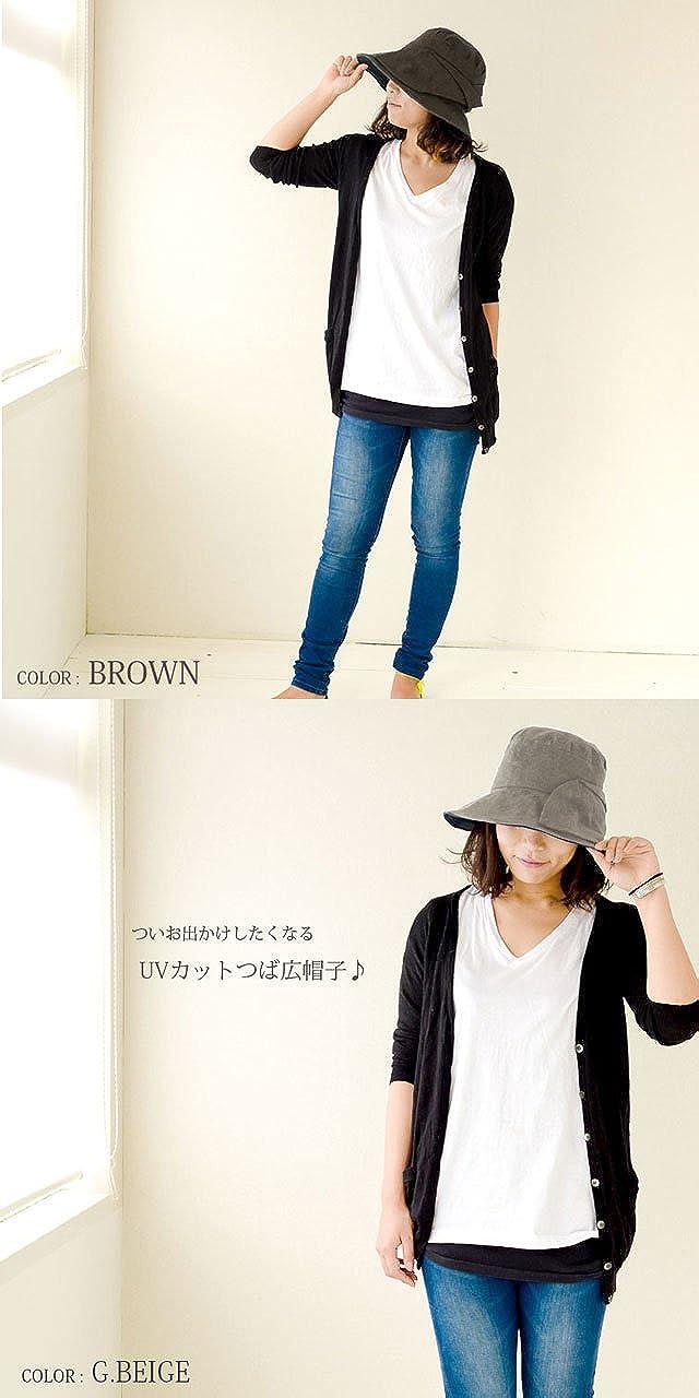 Casualbox Frauen Japanisch Sonne Hut UV Sommer Strand Mode Weite Krempe