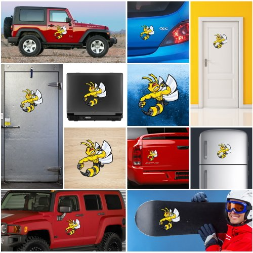 Review Decal Stickers Bee, Hornet,