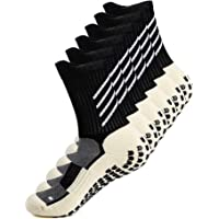Anti-slip Athletic Sock for Men Women Anti Blister Cushion Wicking Breathable Non-slip sport Socks for Football Basketball Baseball Yoga Runing Hiking Trekking Fitness