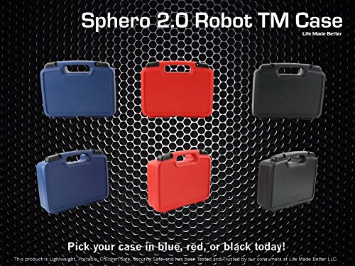 Life Made Better Storage Organizer - Compatible with Sphero 2.0 The App-Controlled Robot Ball and Accessories- Durable Carrying Case - Blue by Life Made Better (Image #4)