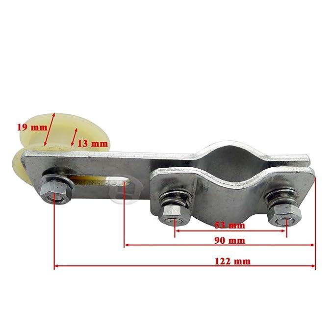 Motorized Bicycle Idler Pulley Chain Tensioner Roller 49cc 60cc 66cc 80cc U CR05