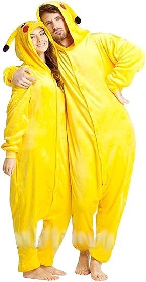 Inception Pro Infinite Talla m - Pijama y Disfraz - Carnaval - Halloween - Pikachu - Pokemon - Color Amarillo - Adultos - Unisex - Mujer - Hombre - ...