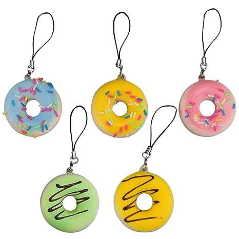 merssavo amor regalo, diseño de Donut colgante clave cadena ...