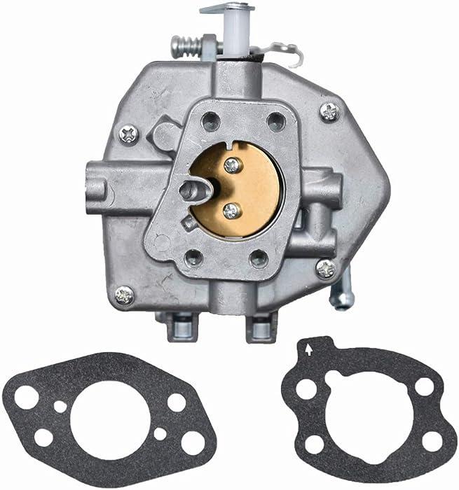 JDLLONG Carburetor w/Gaskets 846109 Fits Briggs & Stratton 303442 303445 303446 303447 305442 305445 305446 305447 Series Vanguard 16 Hp Engines 843324
