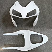 ZXMOTO Unpainted Upper Nose Fairing & Tail Section Fairing for Honda CBR 600RR F5 (2003 - 2004) Individual Motorcycle Fairing