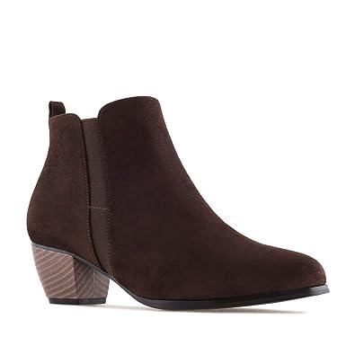 977a7b9e4b523b Bottines Suèdine pour Femmes.Petites et Grandes Pointures 32/35-42/45.:  Amazon.fr: Chaussures et Sacs