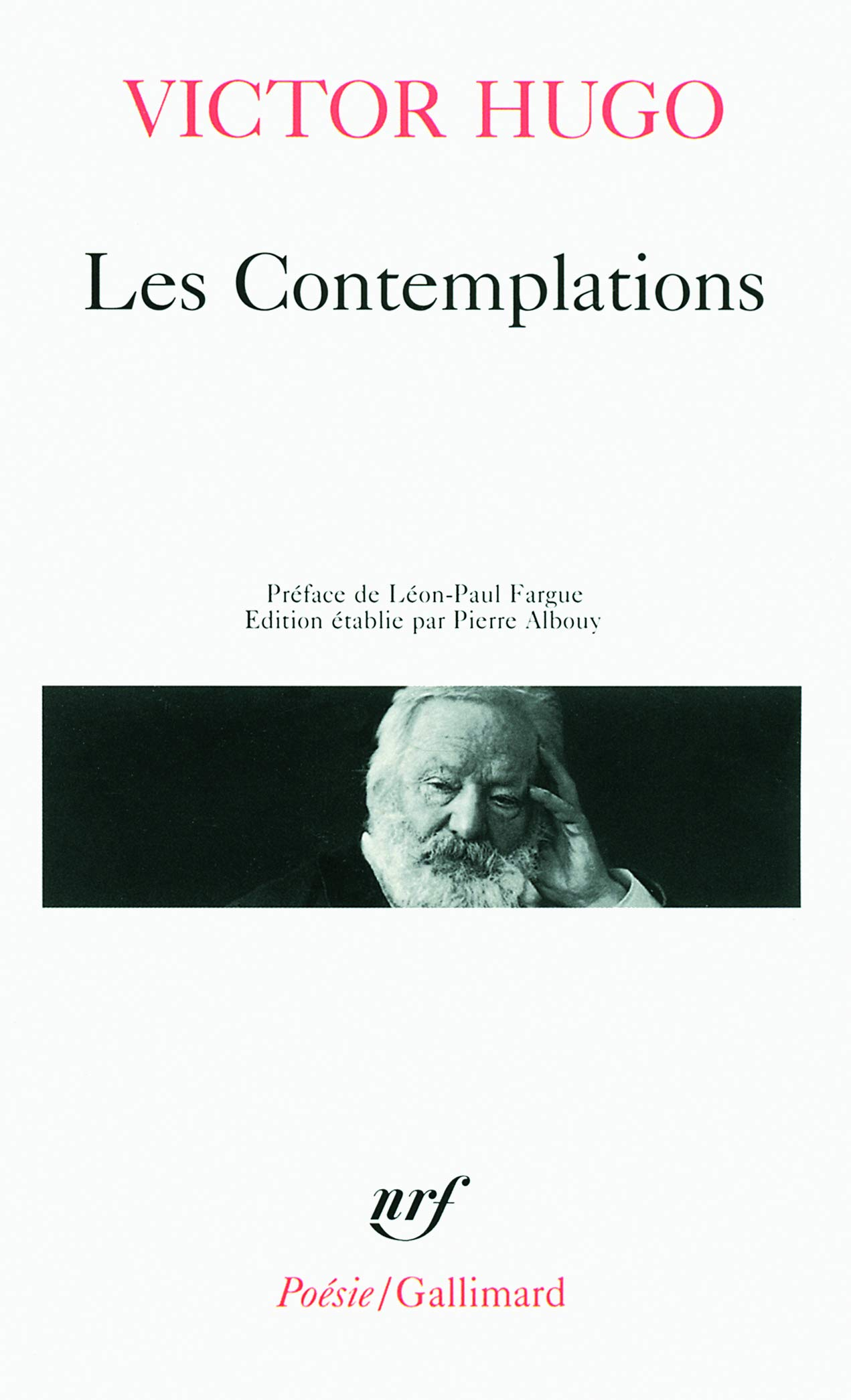 Les Contemplations Victor Hugo Collection Poesie French