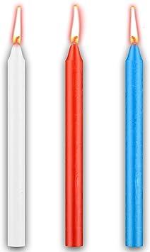 Amazon.com: Timoo - Velas de baja temperatura, 3 colores ...