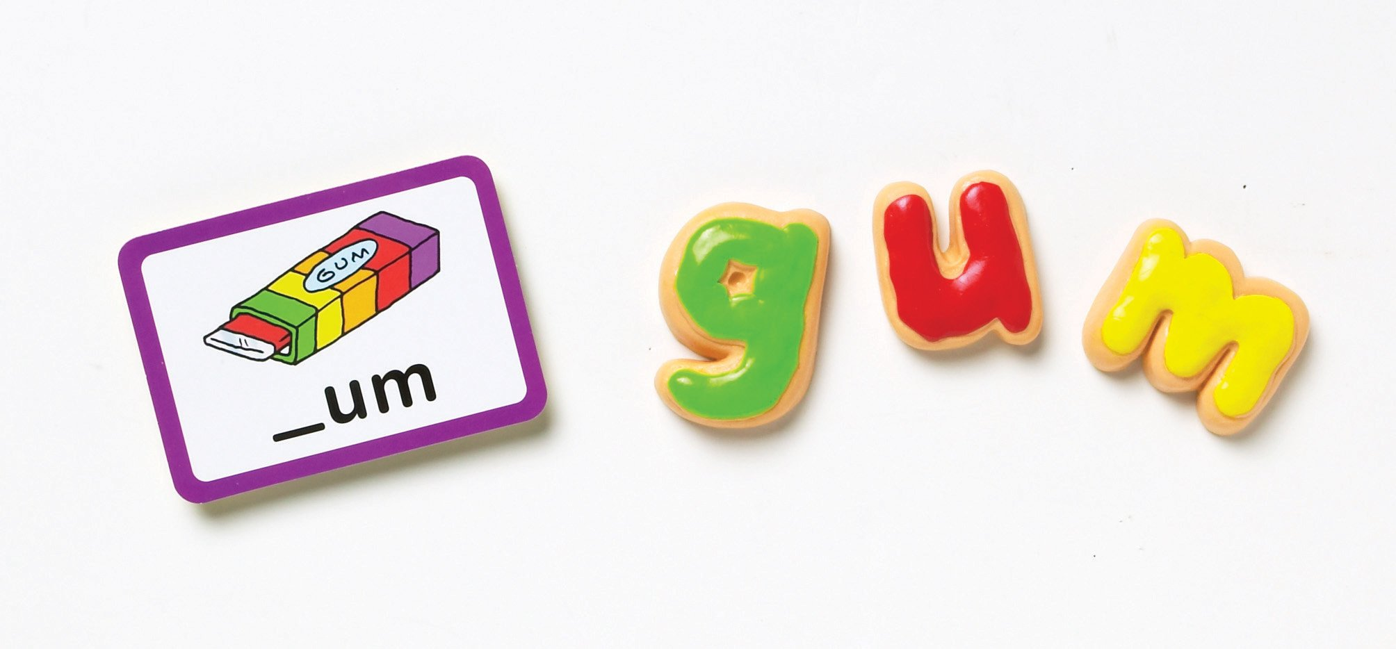 Learning Resources Goodie Games ABC Cookies, 4 Games in 1, Alphabet, Pre-Reading, Phonics, Ages 3+ by Learning Resources (Image #2)