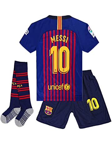 97fd8219e9e Cyllr Barcelona Home Kids/Youth 2018-2019 Season #10 Messi Socce Jersey  Matching