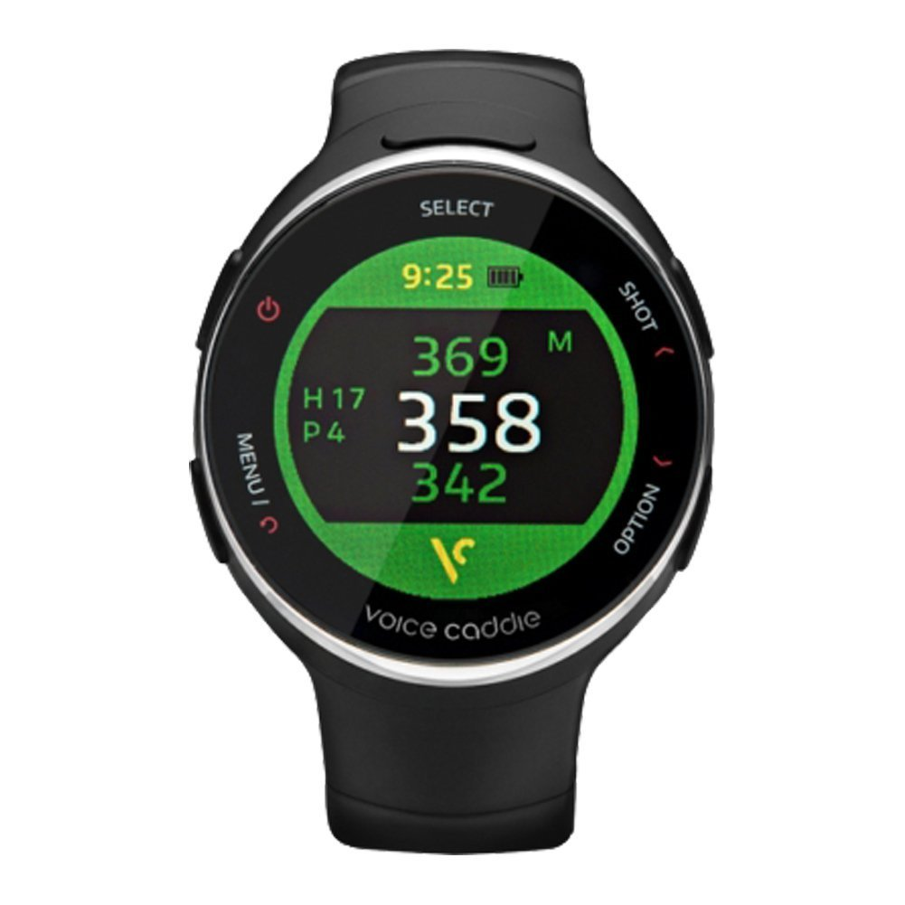 Voice Caddie T3 Hybrid Golf Watch GPS Rangefinder English Language mode with English Manual