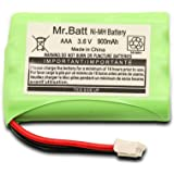 Mr.Batt 900mAh Replacement Battery for Motorola Baby Monitor MBP33 MBP33S MBP33PU MBP36 MBP36S MBP36PU