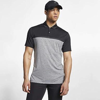 Nike Dri-FIT TW Vapor Polo, Negro (Negro 010), X-Large (Tamaño del ...