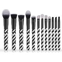 DUcare Makeup Brushes Set, 12 Pcs Face Foundation Blush Contour Eyeliner Eye Shadow Lip Cosmetic Brushes for Powder…