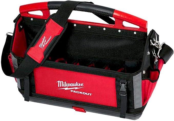 Milwaukee 932464086 - Bolsa para herramientas (50 cm), color rojo: Amazon.es: Bricolaje y herramientas