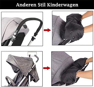 SODSIM Kinderwagen Handw/ärmer Baby Kinderwagen Handschuhe Wasserdicht Kinderwagenmuff Handmuff f/ür Buggy Winddicht