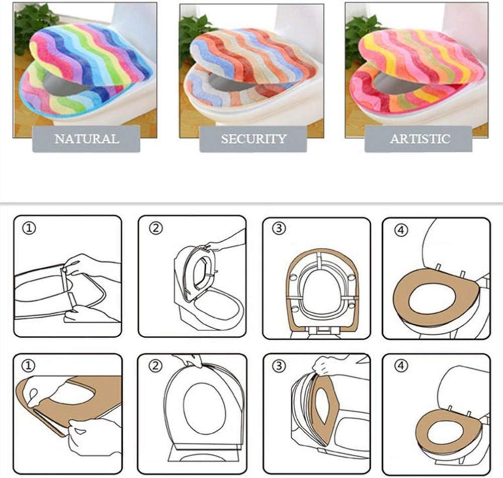 Affe invierno regla Rainbow inodoro dos piezas conjunto asiento de inodoro tapa de inodoro