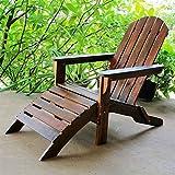 International Caravan VF-4105-IC Furniture Piece Outdoor Adirondack Chair with Footrest
