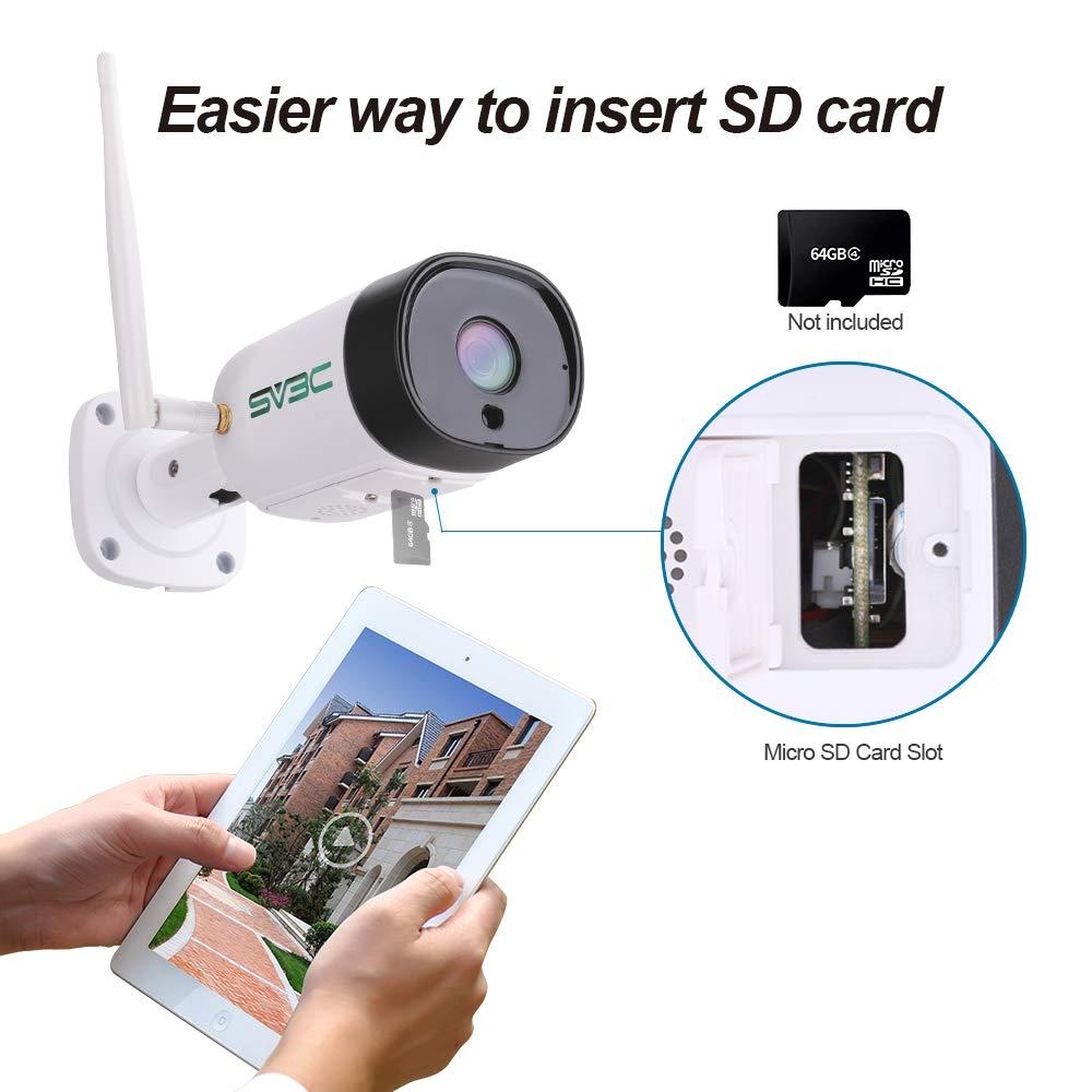 Amazon.com: Cámara de seguridad WiFi al aire libre, SV3C 5 ...