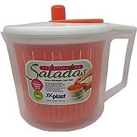 Secador de saladas/Verduras Manual com dosador (Rosa)