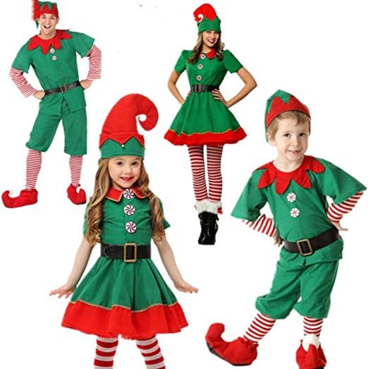 Niño Regalo Cosplay Disfraz Infantil, Disfraz de Elfo, Unisexo ...