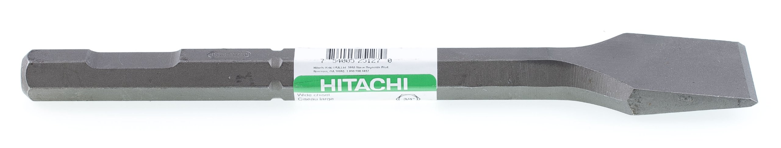 Hitachi 725127 3/4-Inch Hex with 2-Inch by 12-Inch Flat Chisel by Hitachi