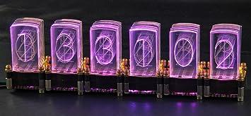 LED-Nixie S 6 Digit Kit including Cronios LED Clock: Amazon co uk