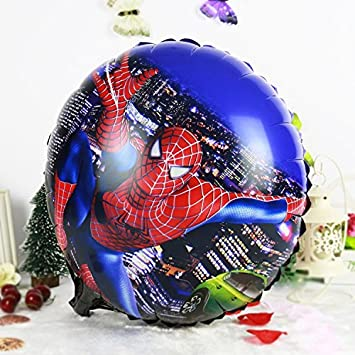 Amazon.com : 1PC 4545cm SpiderMan Foil Balloons Decoracion ...