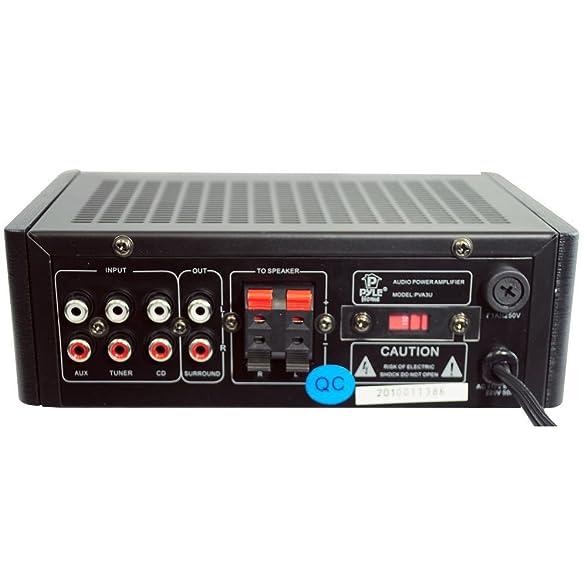 Amazon.com: PVA3U 60 Watts Mini Amplificador Hi-Fi con USB / SD Card Player: Electronics