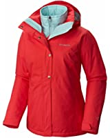 Columbia Womens Bugaboo Casual Interchange Jacket, Red, Medium