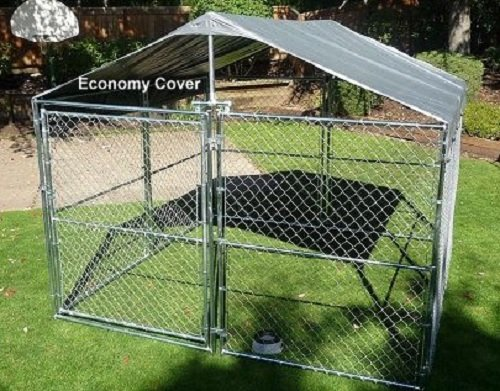 Weatherguard™ Universal 10'WX10'L Kennel Cover w/Frame