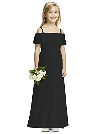 1b7aed90516 Castle Fairy Flower Girl Dresses Spageant Strap Off Shoulder Pageant  Bridesmaid Dress 0 Black