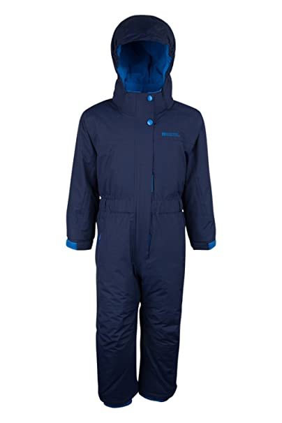 f67e46411071 Mountain Warehouse Cloud All in One Kids Snowsuit - Waterproof One ...