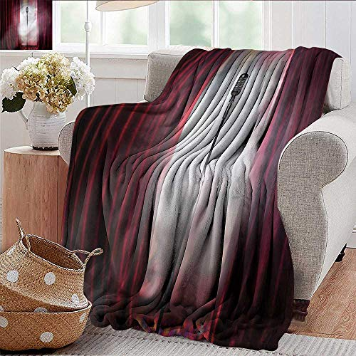 Xaviera Doherty Beach Blanket Musical Theatre,Performance Singer Microfiber All Season Blanket for Bed or Couch Multicolor 50