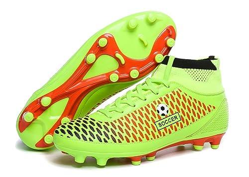 66 Ciudad Hombres de Rendimiento AG Fútbol Tacos para Zapatos Zapatillas Zapatos de Fútbol: Amazon.es: Zapatos y complementos