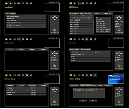 GTMedia V9 Super DVB S2 TV ricevitore Satellite decoder Support ...