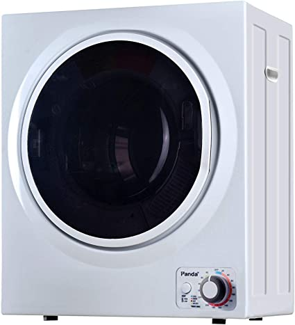 2.65 Cu.Ft Portable Dryer for Clothes White Compact Tumble Laundry Dryer with Stainless Steel Tub Easy Control Touchscreen Control for Variety Drying Mode YAKEY 1400W Compact Laundry Dryer