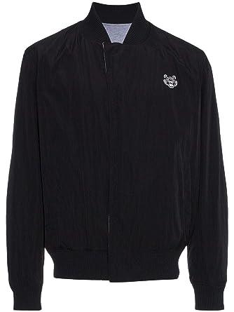 Kenzo Homme F855bl1751nc99 Noir Coton Blouson  Amazon.fr  Vêtements ... 4fd90a8696d