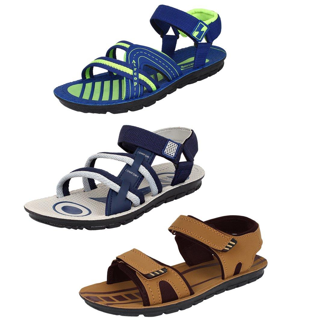 8d0680b4e5147 Super Men's Multicolor Sandals
