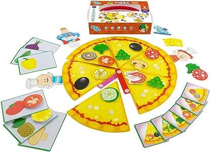 Picnmix Pizza Juguetes Educativos para niños 3 años a 7 años Juegos Educativos: Amazon.es: Electrónica