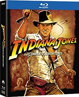 Indiana Jones: The Complete Adventures [Blu-ray] (Bilingual) (B007I6RQB0) | Amazon price tracker / tracking, Amazon price history charts, Amazon price watches, Amazon price drop alerts