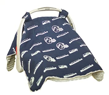 Carseat Canopy (NFL Seattle Seahawks) Baby Infant Car Seat Cover  sc 1 st  Amazon.com & Amazon.com: Carseat Canopy (NFL Seattle Seahawks) Baby Infant Car ...