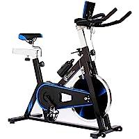 CENTURFIT Bicicleta 18kg Fija Spinning Fitness Indoor Gimnasio Estática Excelente Calidad Profesional Uso Rudo Disco Rueda