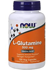 NOW L-Glutamine 500 mg 120 Capsules