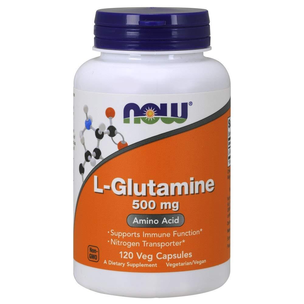NOW Supplements, L-Glutamine 500 mg