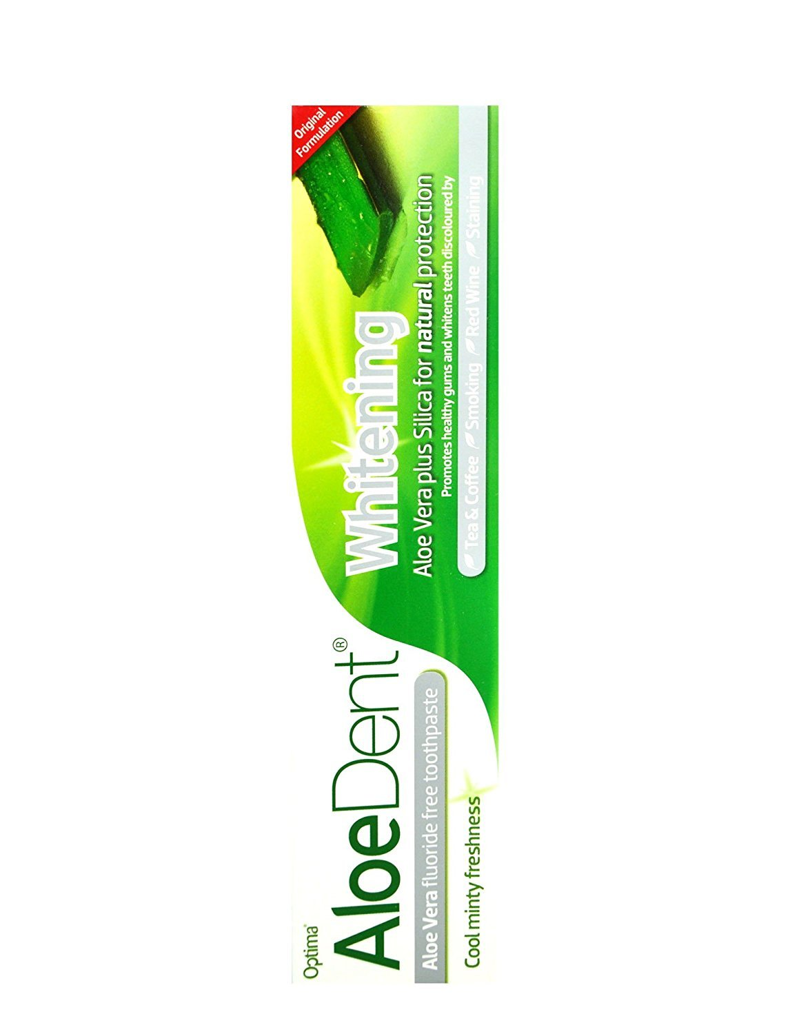Aloe Dent Natural Whitening Toothpaste Aloe Vera & Silica 100ml