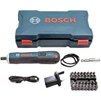 Parafusadeira Bosch Go 3,6v Bivolt com Maleta e Kit 33 peças
